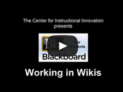 10-Working in Wikis