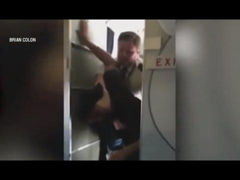 Pilot Tackles Drunk