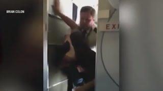 Pilot Tackles Drunk Passenger