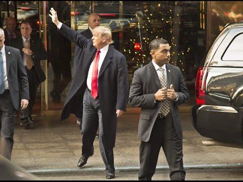 Political Maniacs: Trump's Scary Security