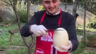 الشيف بوراك واحلى طبق لحم ببيض النعام Türk aşçı Bourak