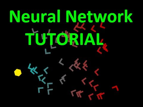 Tutorial On Programming An Evolving Neural Network In C# w/ Unity3D