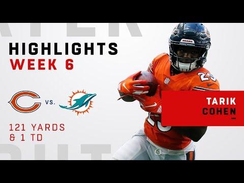 Tarik Cohen's Big Game Vs. Dolphins