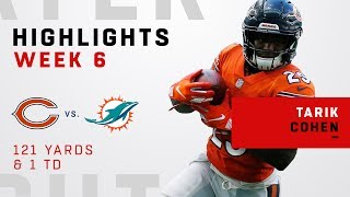 Tarik Cohen's Big Game vs. Dolphins