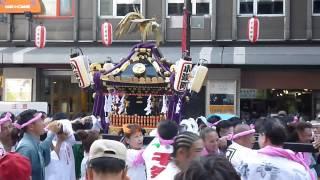 2013年 千葉の親子三代夏祭り 小深町自治会の御輿