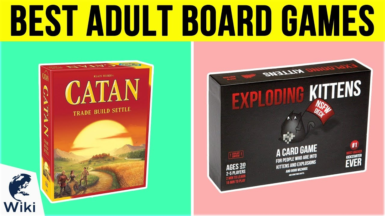 10 Best Adult Board Games 2019 Youtube
