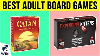10 Best Adult Board Games 2019