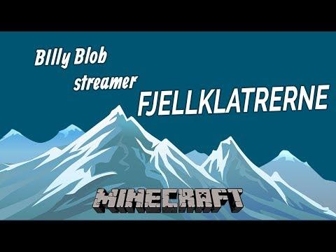 FJELLKLATRERNE Live Stream!   22.03.2018   Norsk Minecraft Vanilla