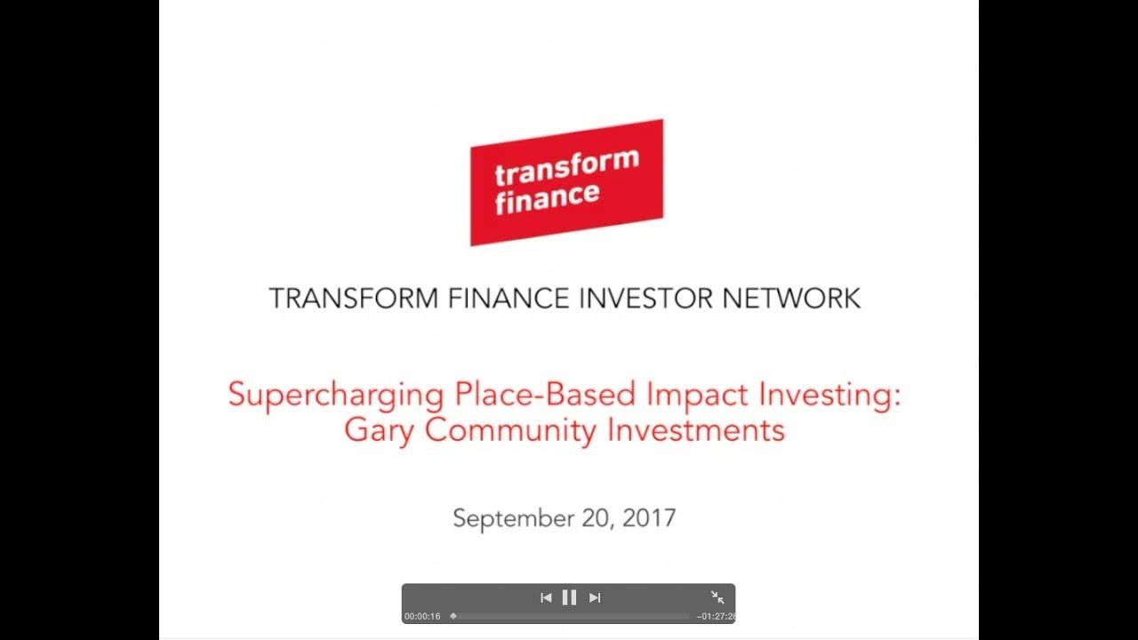 Webinars — Transform Finance