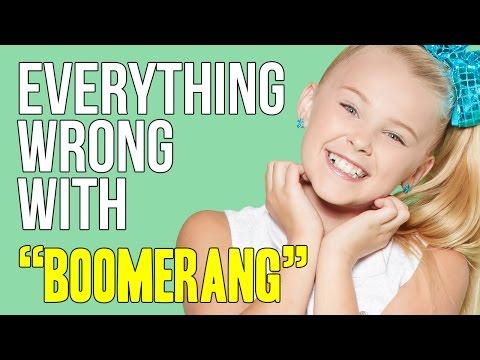 "Everything Wrong With JoJo Siwa - ""Boomerang"""
