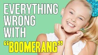 "Video Everything Wrong With JoJo Siwa - ""Boomerang"" download MP3, 3GP, MP4, WEBM, AVI, FLV Oktober 2017"