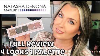 Natasha Denona Mini Retro Palette Review PLUS 4 Looks