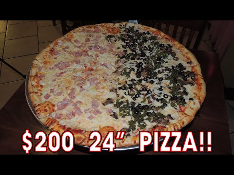 "$200 24"" Pizza Eating Challenge in Alabama!! thumbnail"