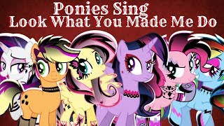 "Video Ponies Sing ""Look What You Made Me Do"" (AshleyH) download MP3, 3GP, MP4, WEBM, AVI, FLV Juni 2018"