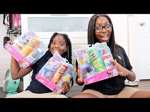 Shopkins Real Littles Lil Shopper Big Pack Unboxing