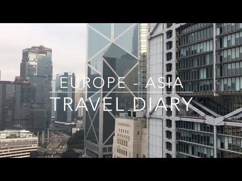 Europe & Asia Travel Diary