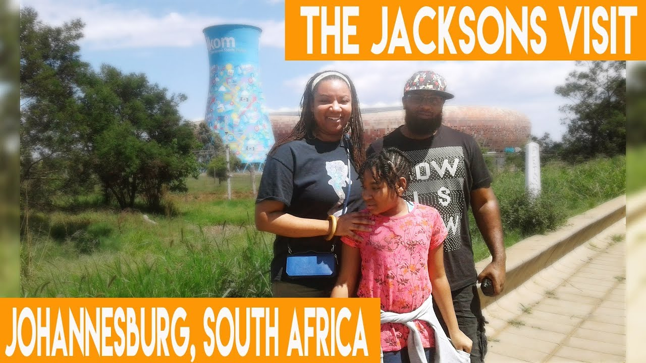 Black Americans Visit Johannesburg, South Africa