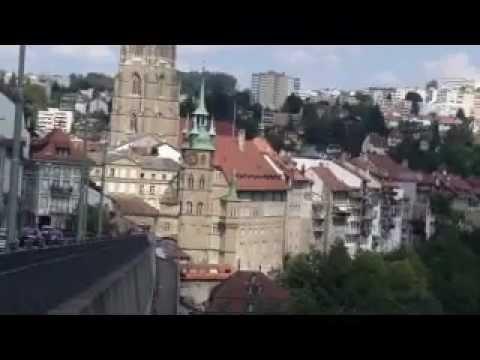 Besuch in Fribourg/Freiburg i. Ue. (Schweiz)