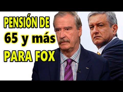 Aunque no le guste! Vicente Fox recibirá pensión como todo mexicano de 65 y más!