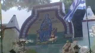 Греция Корфу Палеокастрица Монастырь Св Спиридона(о.Корфу - Дом Святителя Спиридона Тримифунтского., 2015-11-06T18:25:07.000Z)