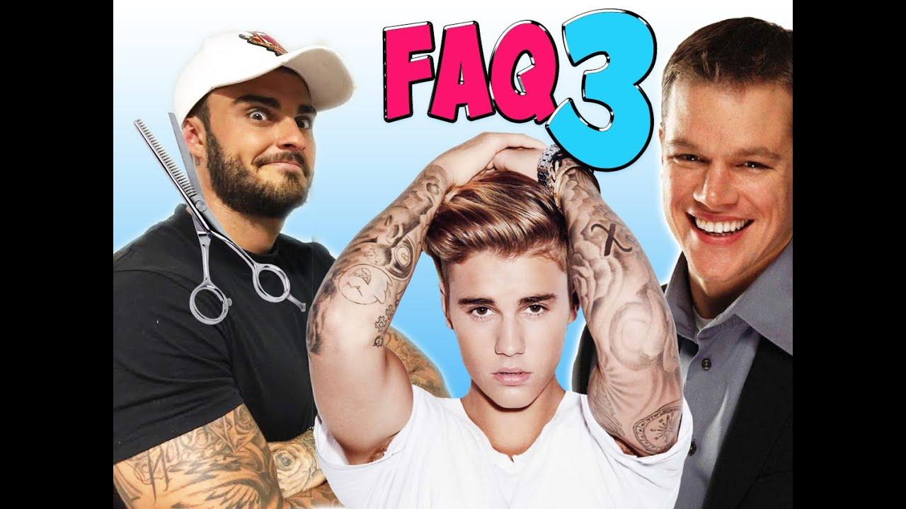 FAQ - VOS QUESTIONS N°3 - RENCONTRE AVEC MATT DAMON ? CONCERT JUSTIN BIEBER ? NOUVELLE COUPE ?