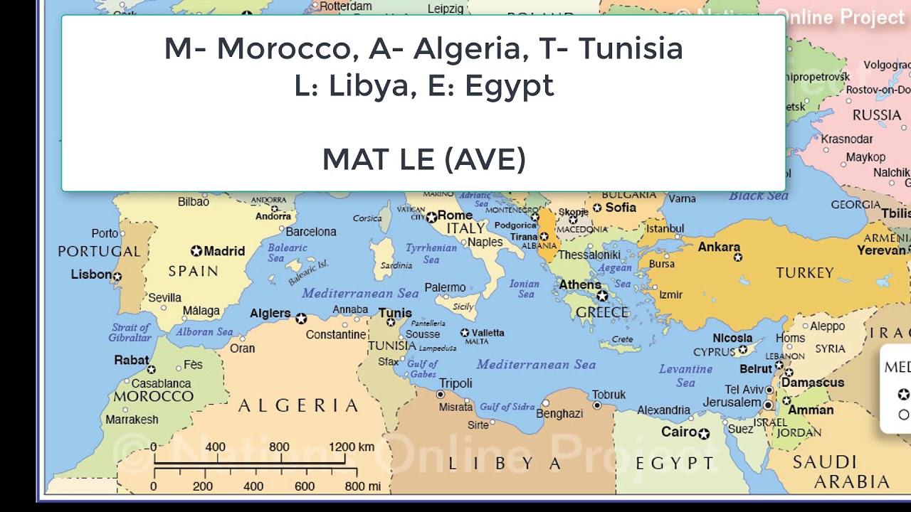 Geography Through Maps YouTube - Nalchik map