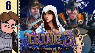 Let's Play Trine 3: The Artifacts of Power Co-op Part 6 - Daleks?!