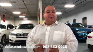 Social Sher at Deluxe Auto Sales Linden NJ - BMW Mercedes Benz Inventory Like New