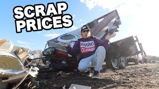 WHY ARE SCRAP METAL PRICES SO LOW?!