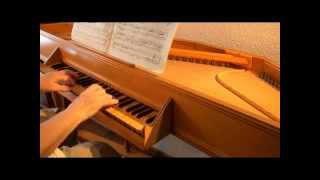 Leopold MOZART: Aria, Polonaise, Menuet (Notenbuch für Wolfgang). Virginal: C.A. Schleppy