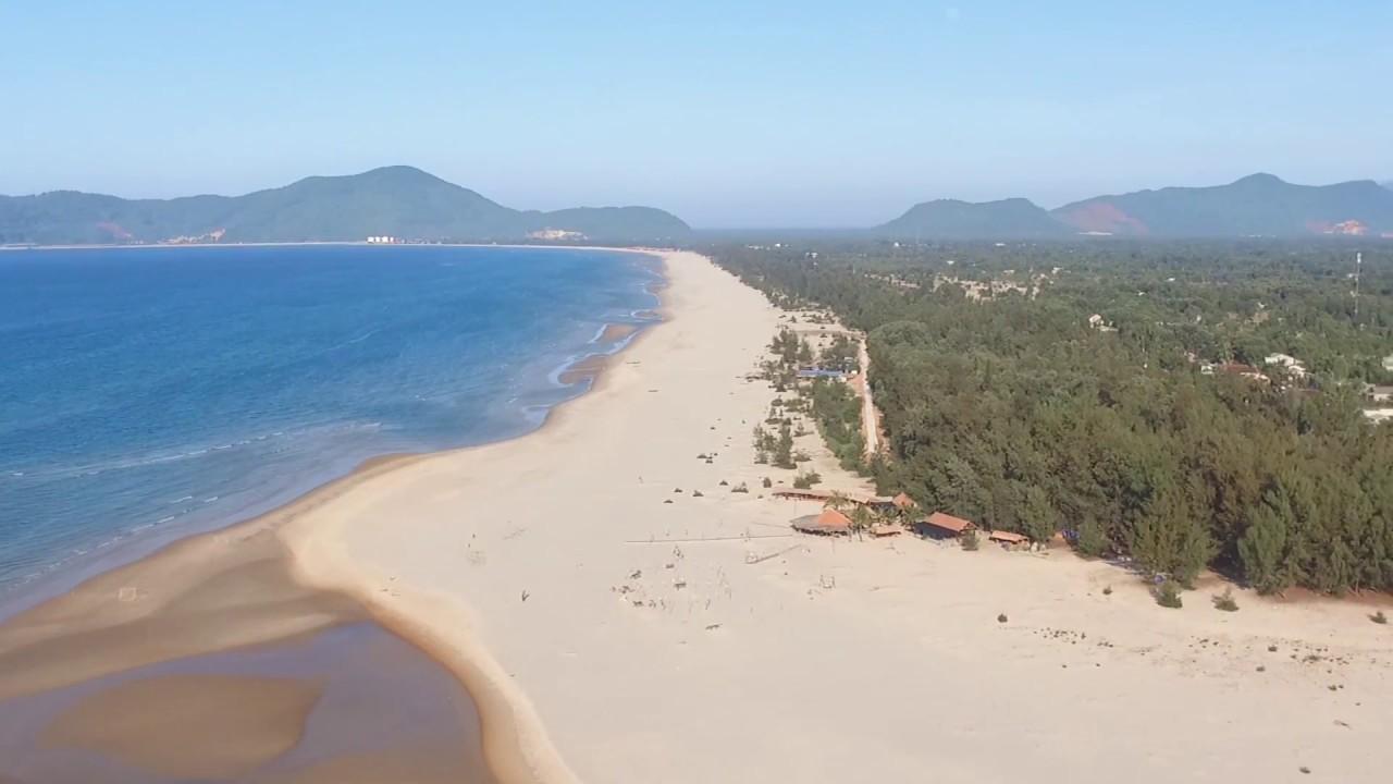 [Flycam] Canh Duong Beach Camp – Thiên đường xứ Huế