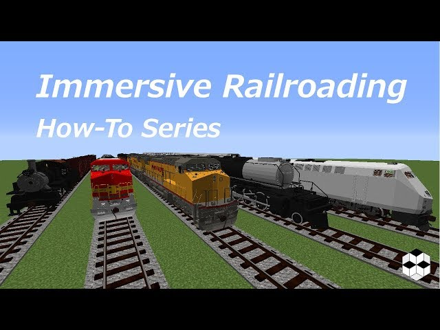 MineCraft 1 12 2 Mod Immersive Railroading | GamerHow