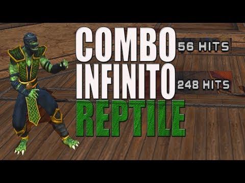Mortal Kombat Armageddon - REPTILE (COMBO INFINITO) PS2