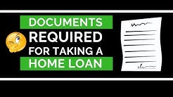 Home Loan Documents Required | Complete  Process - Salaried , Self Employed