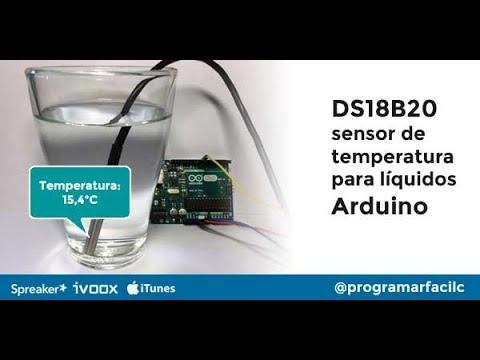 DS18B20 Y Arduino Cómo Medir La Temperatura Del Agua Y Ambientes Húmedos