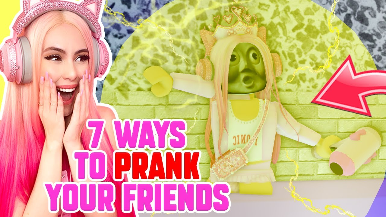 7 Ways To Prank Your Friends In Royale High