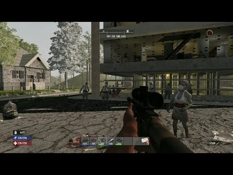 7days to die PS4 1.17 木4000チャレンジ(^^♪