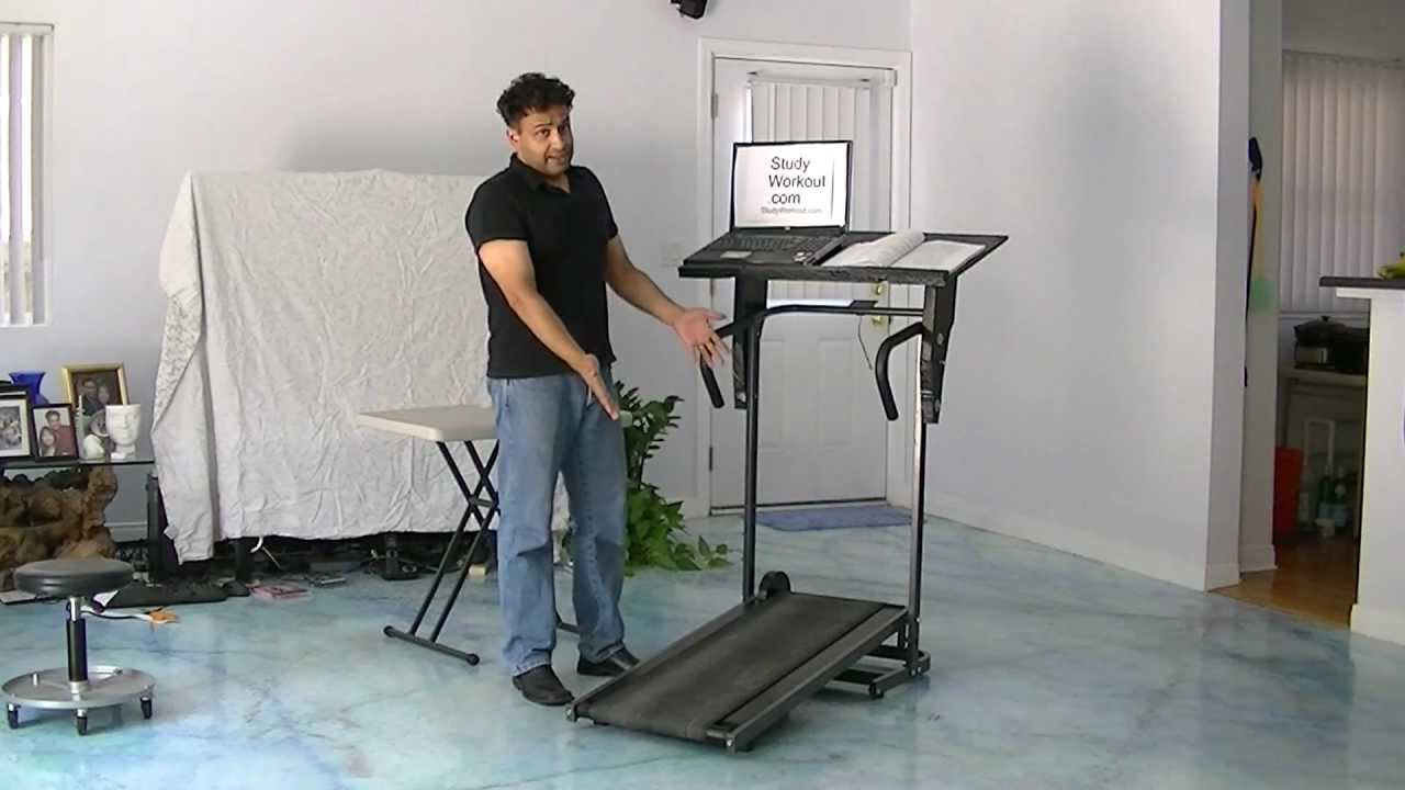treadmill desk studyworkout dotcom manual youtube rh youtube com Portable Manual Treadmill Folding Manual Treadmill