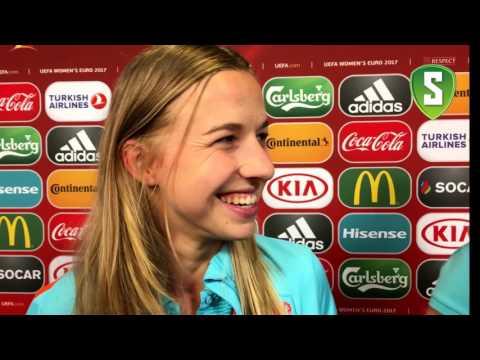 Jackie Groenen na Nederland - Engeland (3-0)