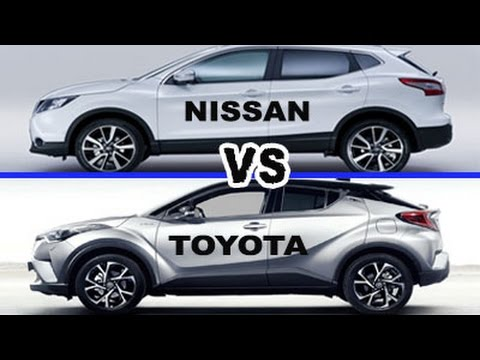 2017 toyota c hr vs nissan qashqai hd comparatif avec. Black Bedroom Furniture Sets. Home Design Ideas