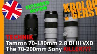 Tamron 70-180mm 2.8 Di III VDX the 70-200mm Sony Killer??? 📷 Krolop&Gerst