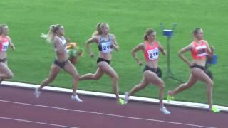 Мемориал братьев Знаменских, бег 800 метров, женщины