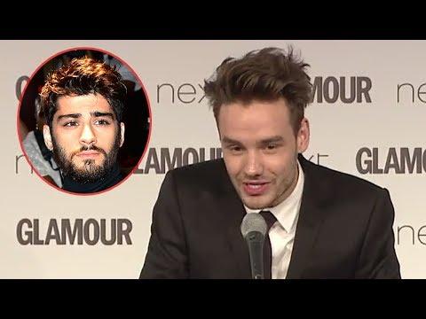 Liam Payne Se Burla de Zayn Malik y One Direction en Premios Glamour Awards