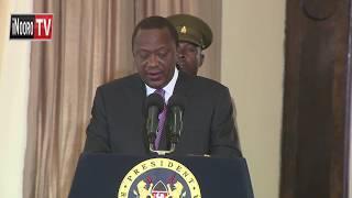 President Uhuru Kenyatta niacemanirie na mangabana kwariria megii waaki wa bururi