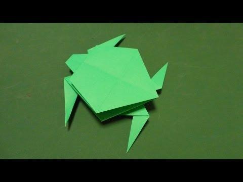 「亀」折り紙Turtleorigami