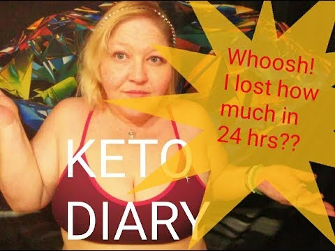 keto-diary;-whoosh!-i-lost-how-much-weight-in-24-hours??