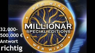 Wer wird Millionär Soundtracks [10] - 32.000-500.000 € [Antwort Richtig]