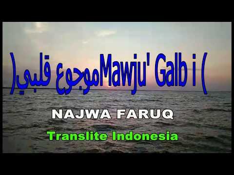 MAUJU' QOLBI translite indonesia