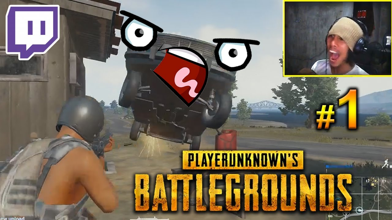 BEWARE OF CARS! Player Unknown's Battlegrounds FUNNY