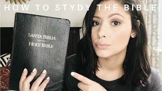 How to study the Bible / How to read the Bible